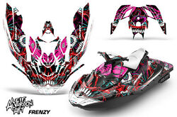 Jet Ski Graphics Kit Decal Wrap For Sea-doo Bombardier Spark 2 Up 14-18 Frenzy R