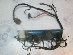 907802 Omc 120 And 165 Hp Tilt Trim Solenoid Bracket And Wire Harness
