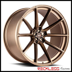 Savini 20 Svf-04 Matte Bronze Concave Wheel Rims Fits Ford Mustang Gt Gt500