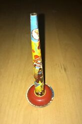 Vintage Antique Toy Horn Noise Maker Us Metal Toy Mfg Co. New Years Party Horn