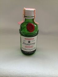 Miniature Whiskey Bottle Tanqueray English Gin