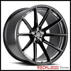 Savini 20 Svf-04 Black Milled Concave Wheel Rims Fits Ford Mustang Gt Gt500
