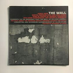 NORBERT HOROWITZ THE WALL WORLD SCREEN STAGE FOLKWAYS LP W. BOOKLET