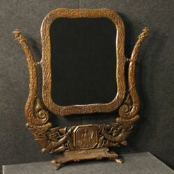 Psyche French Furniture Mirror Mirror Wooden Antique Style Art Nouveau 900