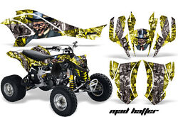 Atv Graphics Kit Quad Decal Wrap For Can-am Ds450 Xmx Xxc 2008-2016 Hatter S Y