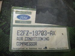 1982 -1989 Ford Mustang Gt Turbo Gt Svo Lx Air Conditioner Compressor