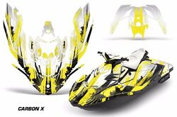 Jet Ski Graphics Kit Decal Wrap For Sea-doo Bombardier Spark 2 Up 14-18 Crbnx Y