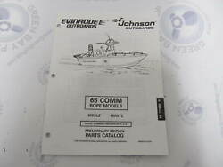 438673 Omc Evinrude Johnson 65 Comm Rope Outboard Parts Catalog 1997