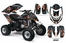 Atv Graphics Kit Decal Quad Wrap For Can-am Bombardier Ds650 Ds 650 Ww2