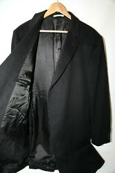 305 Nordstrom Signature Clifton Cashmere Topcoat Size 46 L
