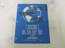 438986 Omc Evinrude Johnson Electric Trolling Outboard Parts Catalog 1998