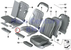 BMW Genuine Front Seat Tail Trim Climate Active Seat Right Comfort Pad Cis F06 F