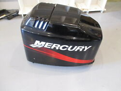 4021-827328t7 Mercury 135 Hp Outboard Top Cowling Engine Hood Cover