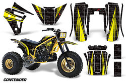 3 Wheeler Graphics Kit Decal Sticker Wrap For Yamaha Tri Z 250 85-86 Contend Y K