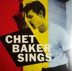 Baker ChetSings Limited Edition in Solid Yellow Colored New Vinyl