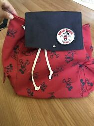 Disney X Junk Food Mickey Mouse Cinch Backpack Target Exclusive $40.00