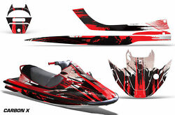 Jet Ski Graphics Kit Decal Wrap For Kawasaki Sport Tourer Jt1100 Stx Carbonx Red