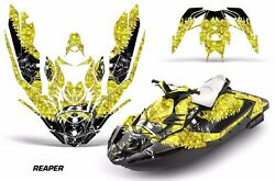 Jet Ski Graphics Kit Decal Wrap For Sea-doo Bombardier Spark 3 Up 15-18 Reaper Y