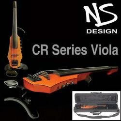 NS Design CR4 4-String Electric Viola With Amber Burst Finish & Case