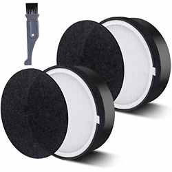 I clean Replacement LV-H132 Filter,2Packs HEPA and Activated Carbon Filters Air