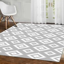 Geometric Bedrooms Rugs Aztec Diamond Patterns Contemporary Dining Rooms Carpets