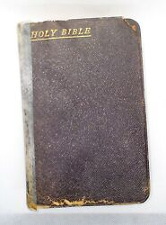 Vintage Holy Bible Old And New Testaments Oxford University Press Henry Flowde