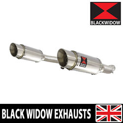 Gsx1400 K2 K3 K4 02 03 04 4-2 Exhaust Silencers End Cans Stainless 200ss