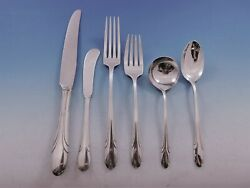 Symphony By Towle Sterling Silver Flatware Set For 8 Service 53 Pieces Art Deco
