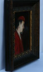 Original Oil Painting , Framed And Signed Arthur By L.b. Mckay El Paso Tx