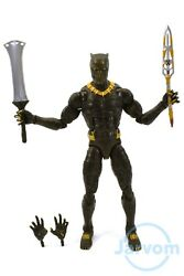 Marvel Legends 6quot; Inch Okoye BAF Wave Black Panther Killmonger Loose Complete