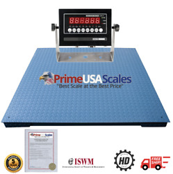 Optima Scale Ntep Legal For Trade 4x4 Feet Heavy Duty Floor Pallet Scale 500 Lb