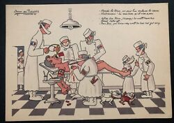 Mint France Comic Picture Postcard Ppc After The Rhin He Will Have His Heart