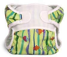 Fishies Reusable Swim Diaper - Swimmi By Bummis Size Small Fits 9-15 Pounds