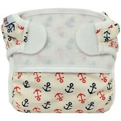 Anchors Away Reusable Swim Diaper - Swimmi By Bummis Size Small Fits 9-15 Lbs