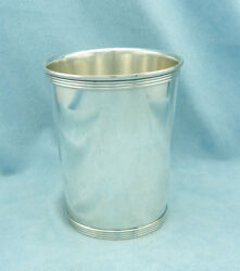 Very Rare Vintage Alvin S251 Solid Sterling Silver Derby Mint Julep Cup No Mono