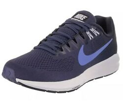 Nike Air Zoom Structure 21 Womens Running Shoes Blue Glow Obsidian Size 5