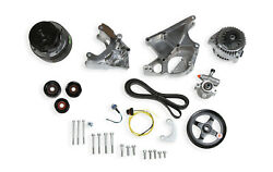Holley 20-136p Ls/lt Complete Accessory Drive Kit- Polished Finish