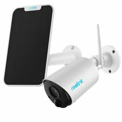 Wireless Security Camera 1080p Outdoor Battery Powered Argus Eco And Solar Panel