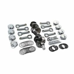 New Premium Forged Scat Rotating Assembly H-beam Rods Fits Chevy 355 1-40210