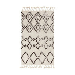 Surya SHP8000-810 Sherpa 120 X 96 inch Neutral and Brown Area Rug Wool