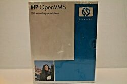 Vintage Hp Open Vms Version 8.2 New W/wear To Box And Tears To Outer Packaging