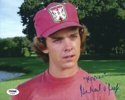 Michael Oand039keefe Signed And039caddyshackand039 8x10 Photo Psa Af25544
