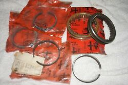 Alfa Romeo 105/116 Series Gearbox Synchro Sleeves And Rings New Old Stock
