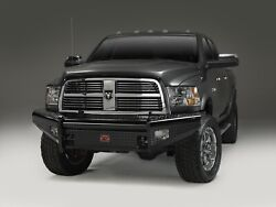 Fab Fours Dr10-s2961-1 Black Steel Front Ranch Bumper
