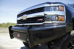 Fab Fours Ch05-s1361-1 Black Steel Front Ranch Bumper