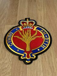British Army Military / Veterans - Embroidered Sew On Biker Large Back Patches