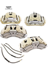 MERCEDES W221 W216 SCL FRONTREAR BREMBO AMG BRAKE CALIPER SET S63 CL63 AMG