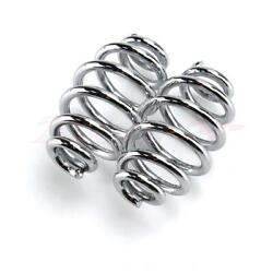 Motorcycle Barrel Coiled Pair 3quot; Springs Solo Seat For Harley Sportster 883 1200 $7.95