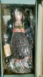 Musical Porcelain Doll Phyllis Made In 1989 New In Box