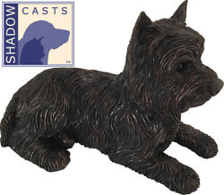 Large 100 Cubic Inches West Highland Terrier ShadowCasts Bronze Urn for Ashes